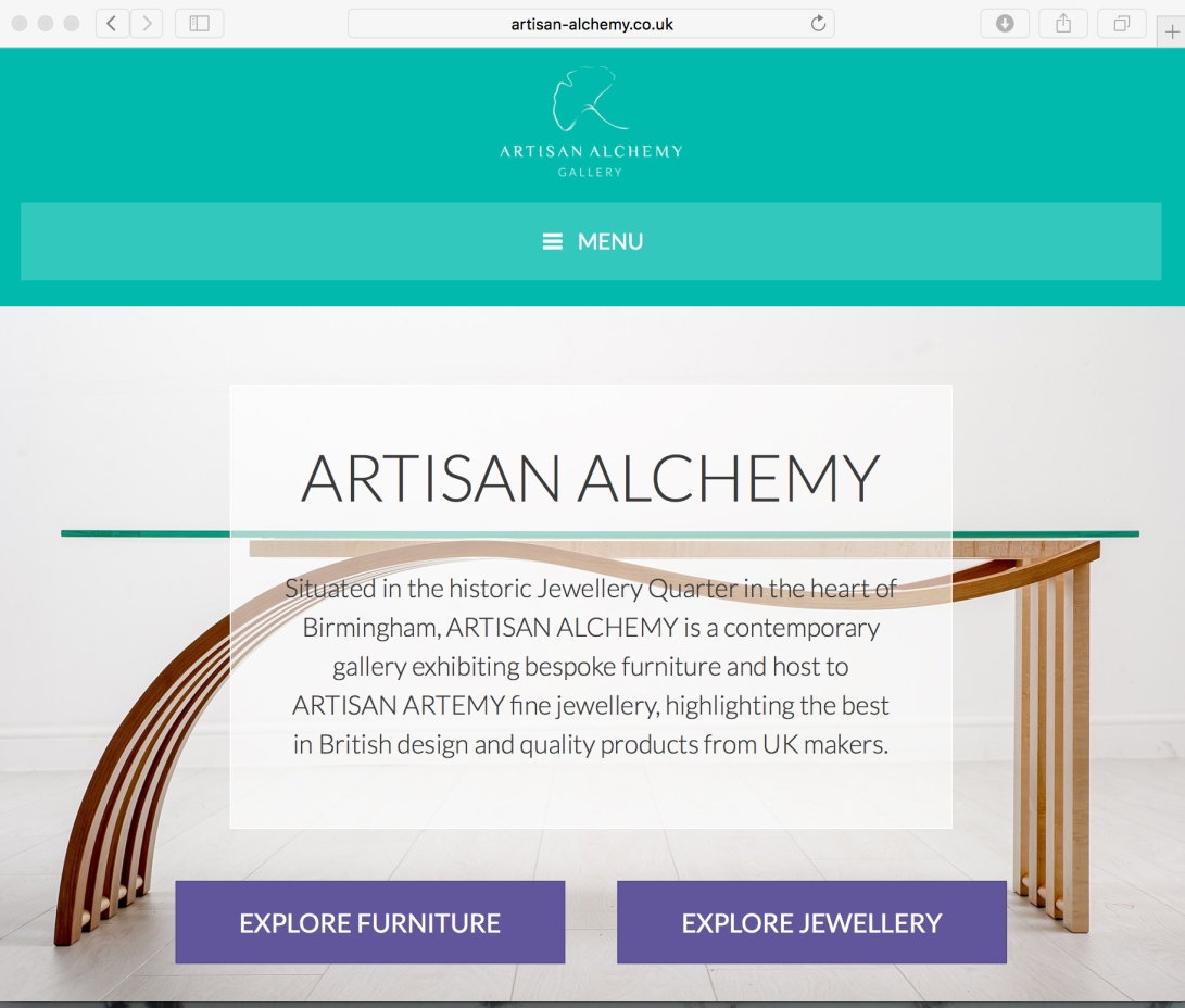 artisan alchemy website